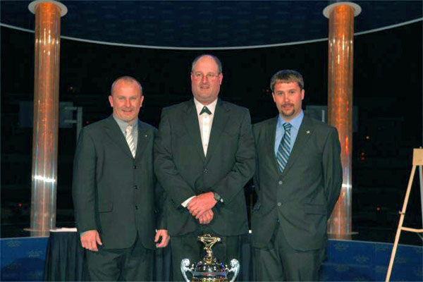 2012 Lucas Oil Race Series Banquet – Jimmy Owens Point Champion