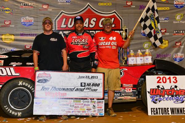 Earl Pearson Jr #44 Wins Wythe